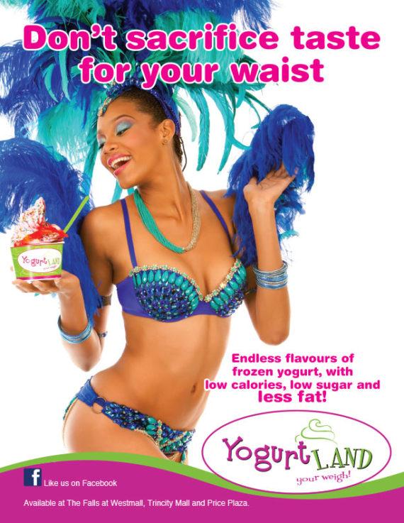 Yogurt Land - Don't sacrifice taste for your waist!