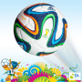 2014 FIFA World Cup™ Brazil - Adidas Brazuca Replica Glider Ball