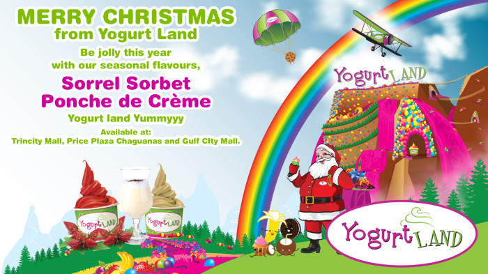Yogurt Land - Christmas 2014