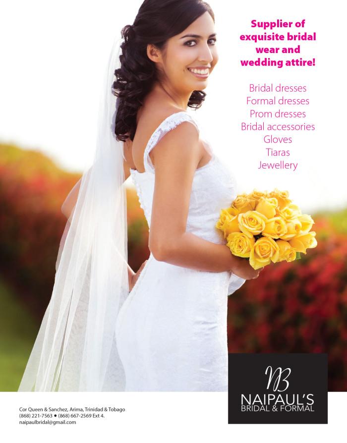 Naipaul's Bridal & Formal - Ad