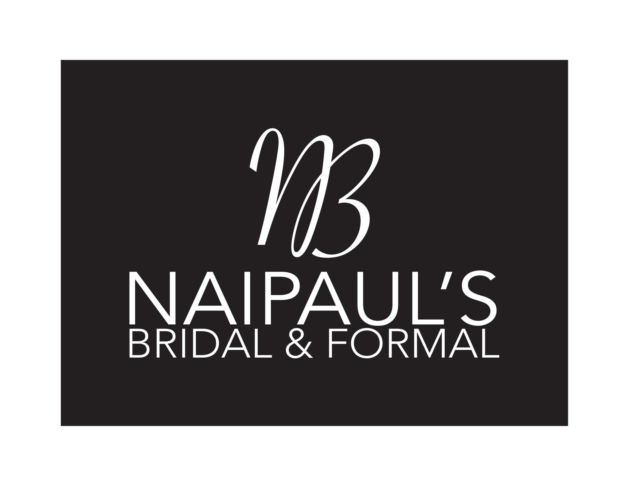 Naipaul's Bridal & Formal - Logo
