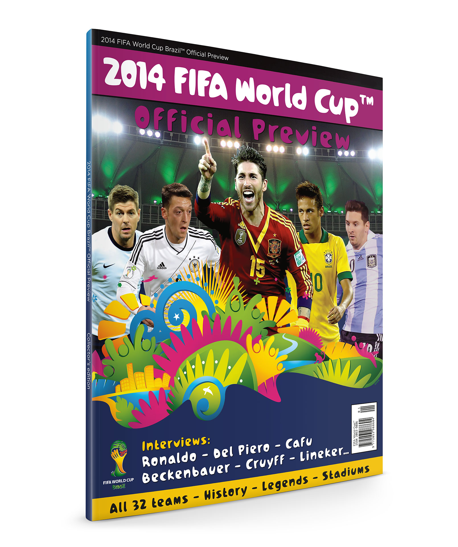 2014 FIFA World Cup - Official Preview
