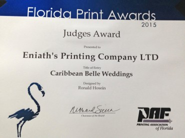 Printing Association of Florida Awards