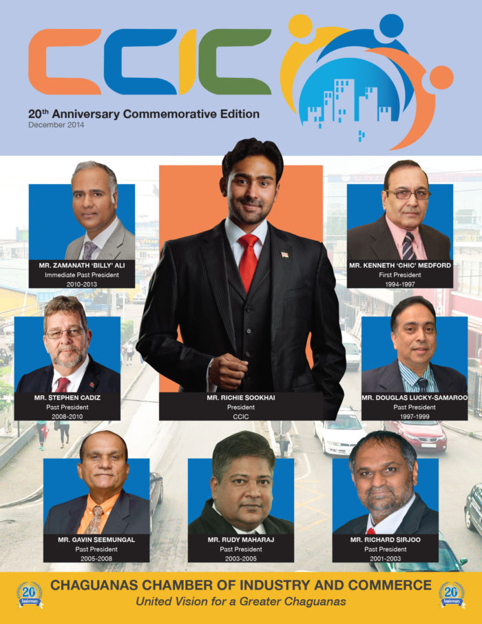 Chaguanas Chamber of Industry and Commerce 20th Anniversary Commemorative Magazine