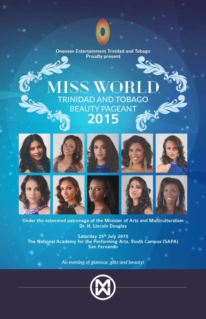 Miss World Trinidad and Tobago 2015