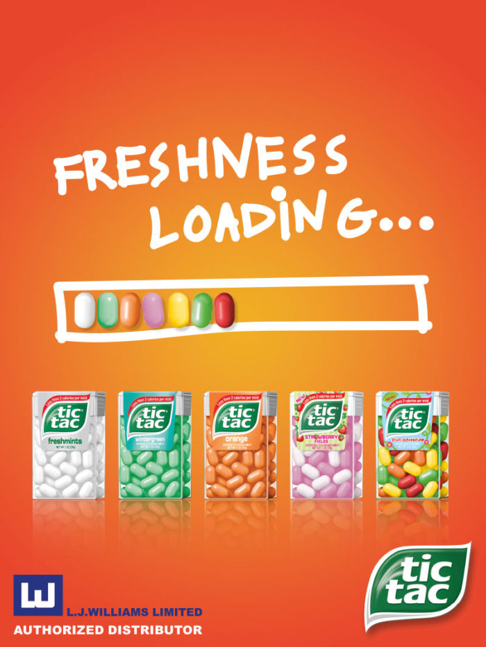 Tic Tac - LoadingFreshness