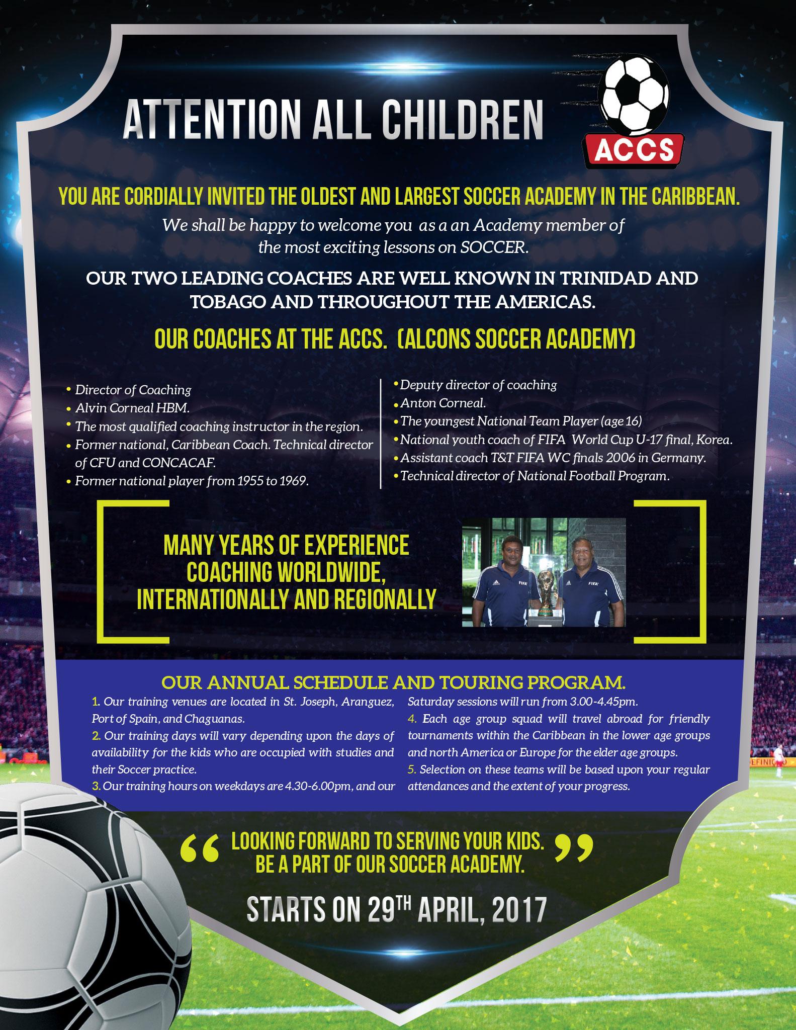 ALCONS Soccer Academy