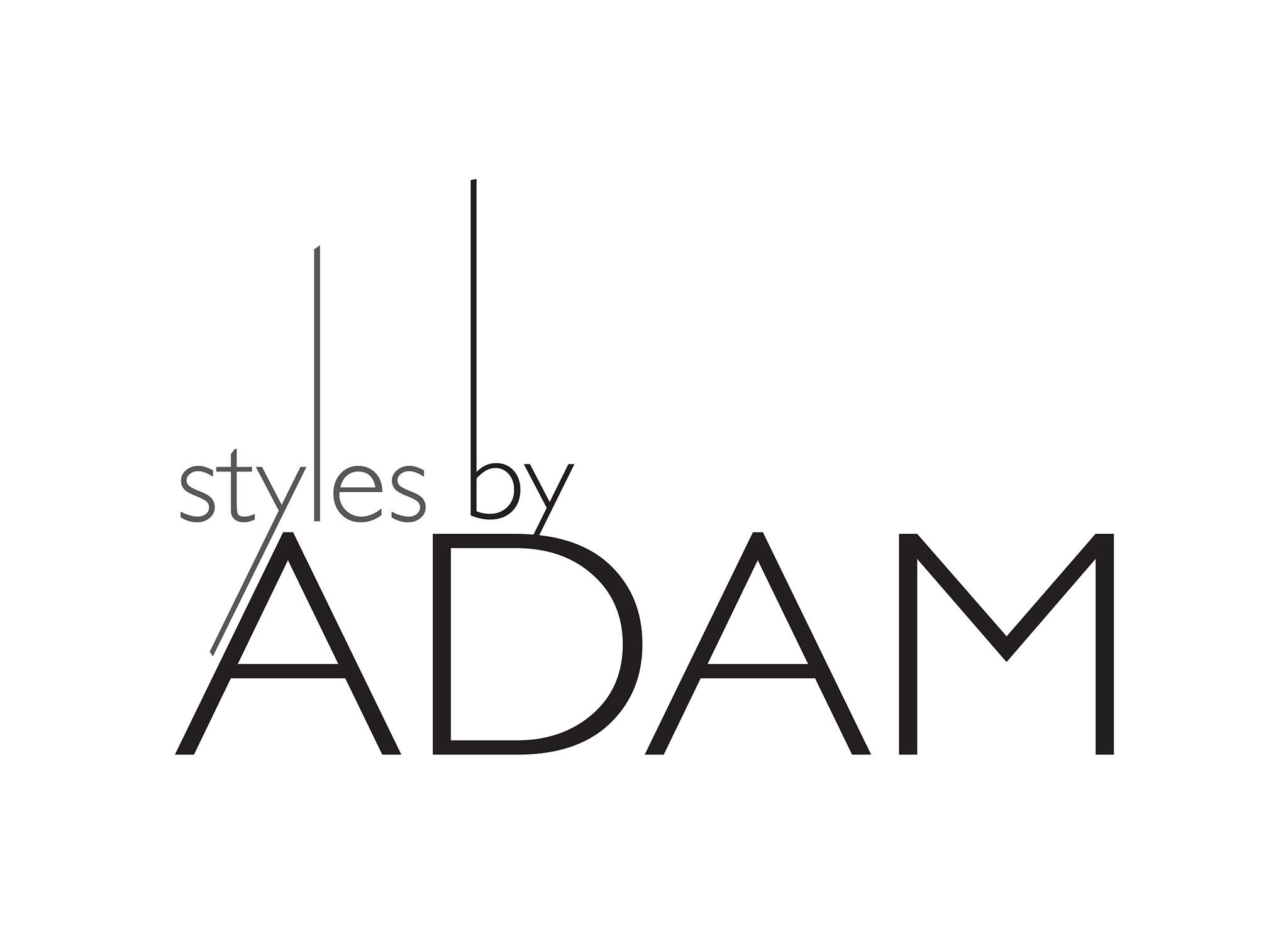 Styles by ADAM - logo design